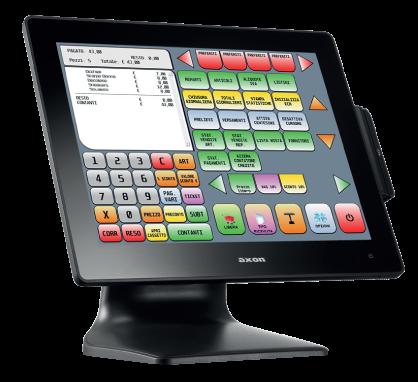 registratori di cassa e PC-POS tassi ufficio