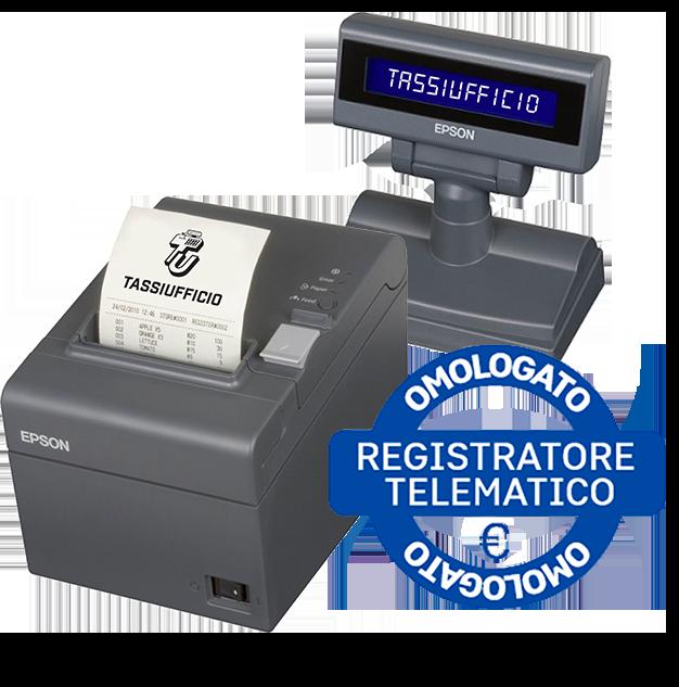 TassiUfficio - registratori di cassa omologato EPSON_RT