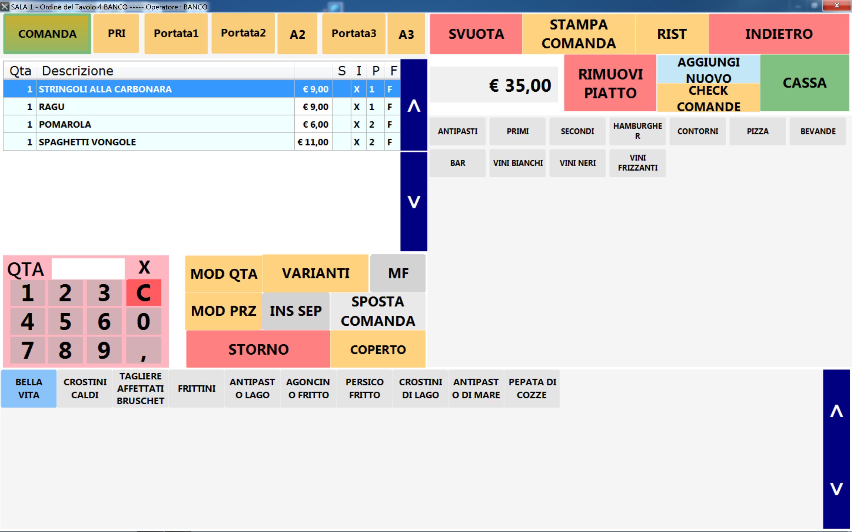Software gestionale per ristoranti e pizzeria - TassiUfficio